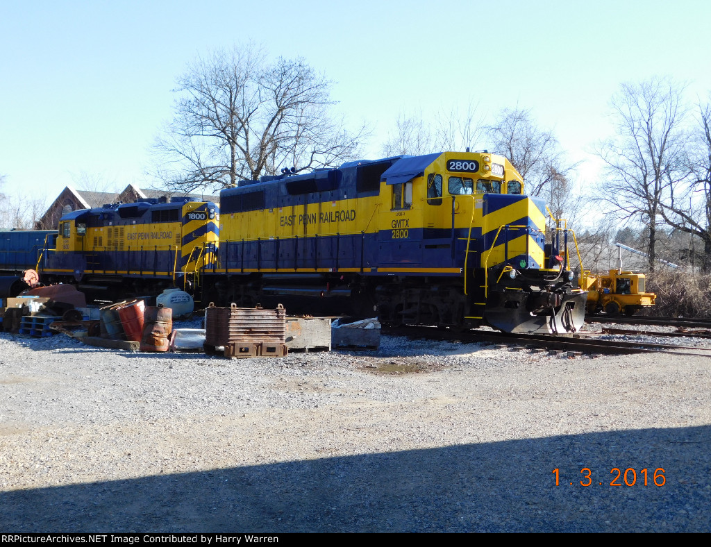 Kennett Square Railroad Yard